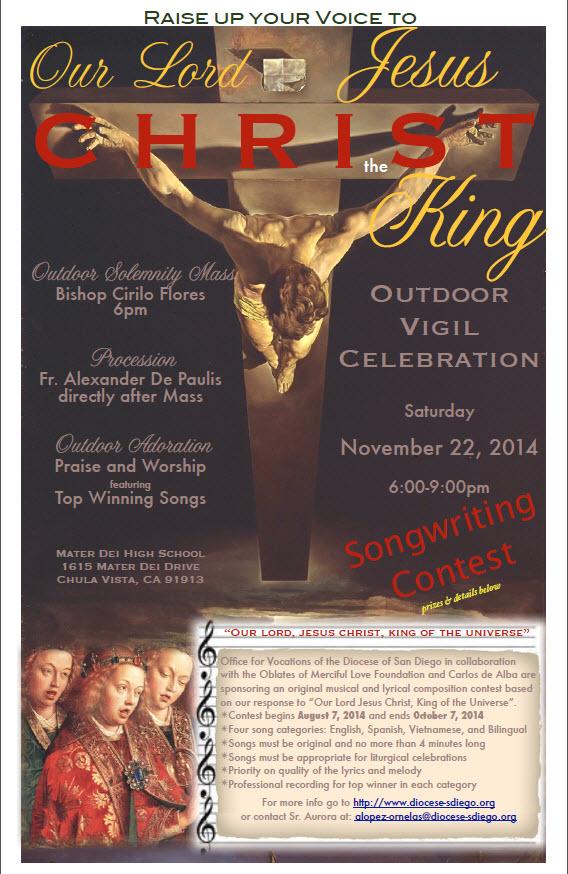 Christ the King Adoration and Mass