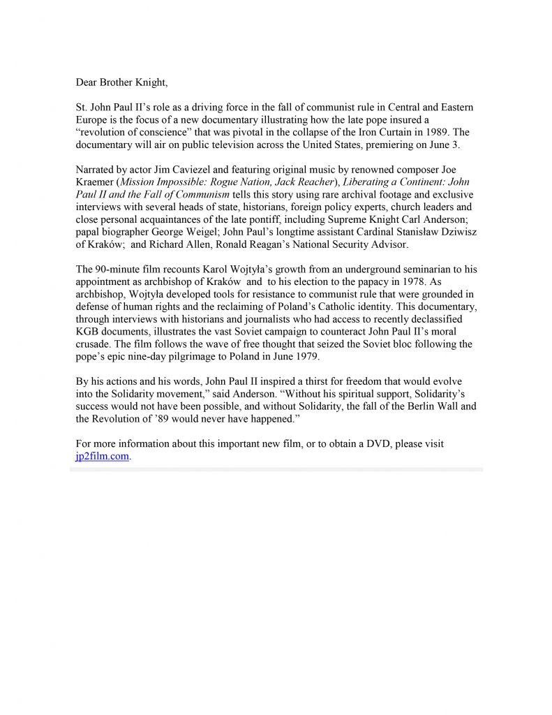 Letter on JPII Video_1