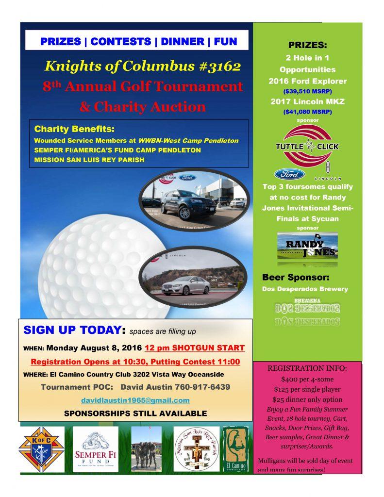 2016 Golf Tournament Flier_1