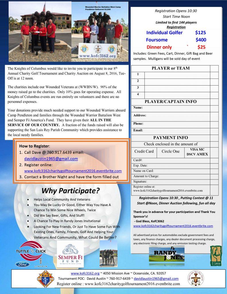 2016 Golf Tournament Flier_2